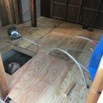 床下地工事